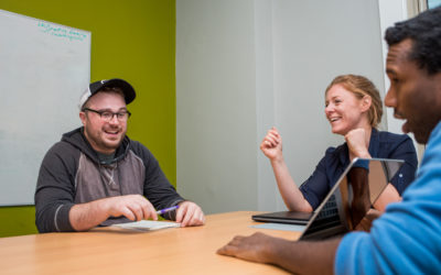 Why we turned an old house into a coworking space